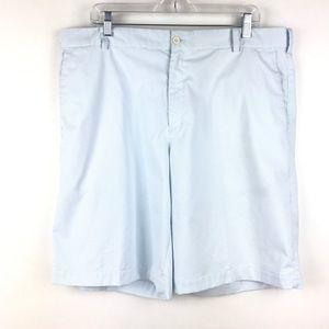Nike Golf Men's Sz 38 Blue & White Striped Shorts